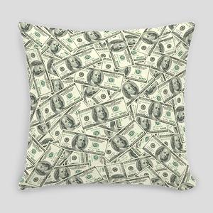 100 Dollar Bill Money Pattern Master Pillow