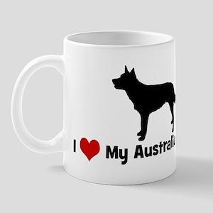 I Love My Australian Kelpie Mug