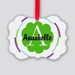 Personalized Monogram Gift Ornament