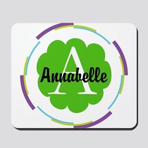 Personalized Monogram Gift Mousepad