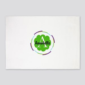 Personalized Monogram Gift 5'x7'Area Rug