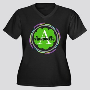 Personalized Monogram Gift Plus Size T-Shirt