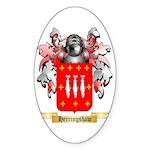 Herringshaw Sticker (Oval)