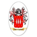 Herringshaw Sticker (Oval 50 pk)