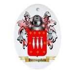 Herringshaw Ornament (Oval)