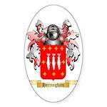 Herringham Sticker (Oval 50 pk)