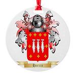 Herrin Round Ornament