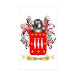 Herrin Sticker (Rectangle 50 pk)