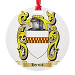 Herrick Round Ornament