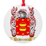 Herrero Round Ornament