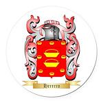Herrero Round Car Magnet