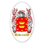 Herrero Sticker (Oval)
