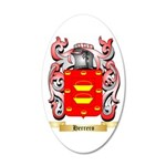 Herrero 35x21 Oval Wall Decal