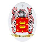 Herrero Ornament (Oval)