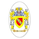 Herrera 3 Sticker (Oval)
