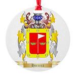 Herrera 2 Round Ornament