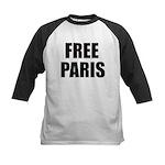 Free Paris Kids Baseball Jersey