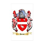 Heron Sticker (Rectangle 50 pk)