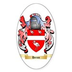 Heron Sticker (Oval 50 pk)