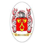 Hernando Sticker (Oval 10 pk)
