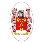 Hernando Sticker (Oval 50 pk)