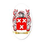 Hernandez Oval Car Magnet