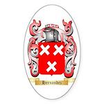 Hernandez Sticker (Oval 10 pk)