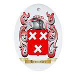 Hernandez Ornament (Oval)