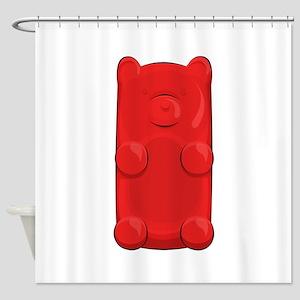 Candy Bear Shower Curtain