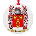 Hernan Round Ornament
