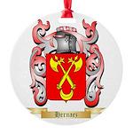 Hernaez Round Ornament