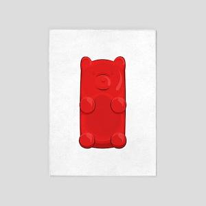 Candy Bear 5'x7'Area Rug
