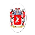 Hermsen 20x12 Oval Wall Decal