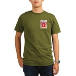 Herms Organic Men's T-Shirt (dark)