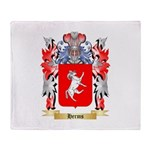 Herms Throw Blanket