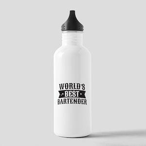 World's Best Bartender Stainless Water Bottle 1.0L