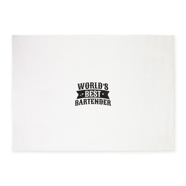 World S Best Bartender 5 X7 Area Rug By Admin Cp121752811