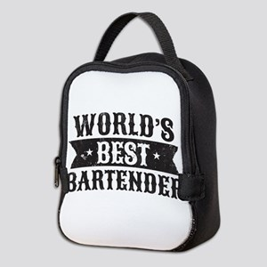 World's Best Bartender Neoprene Lunch Bag