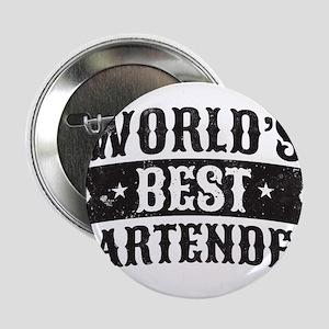 """World's Best Bartender 2.25"""" Button"""