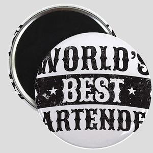 World's Best Bartender Magnets
