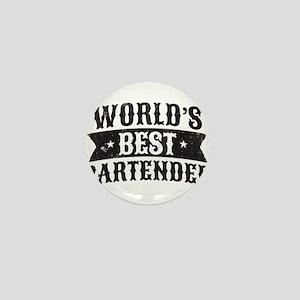 World's Best Bartender Mini Button