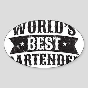 World's Best Bartender Sticker