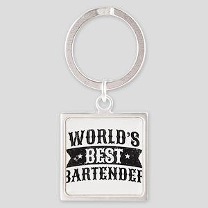 World's Best Bartender Keychains