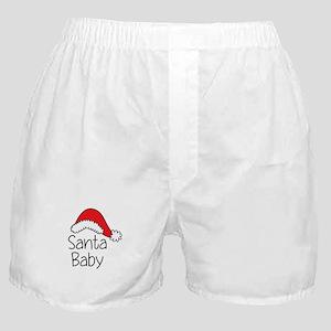 Santa Baby Boxer Shorts