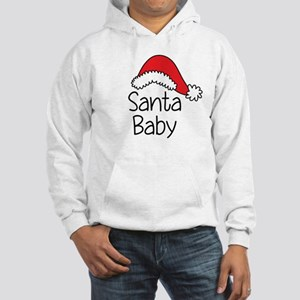 Santa Baby Hooded Sweatshirt