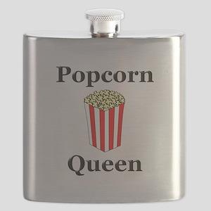 Popcorn Queen Flask