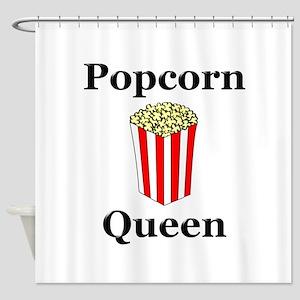 Popcorn Queen Shower Curtain
