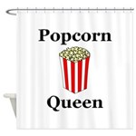 Popcorn Queen Shower Curtain