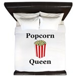 Popcorn Queen King Duvet