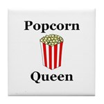 Popcorn Queen Tile Coaster